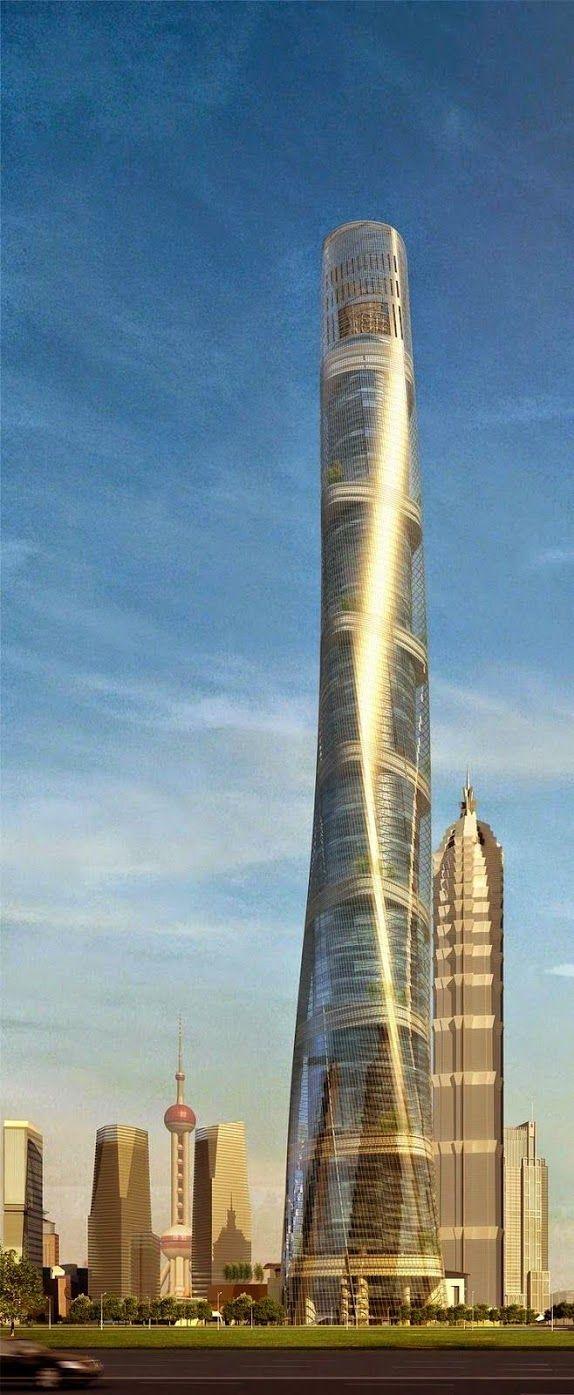 #ZBohom - Shanghai Tower, China. World of ZHI ARTS - ☆ARCHITECTURE - Community - Google+