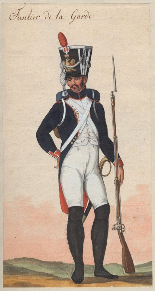 France - Fusilier Grenadier of Guard (Middle Guard)