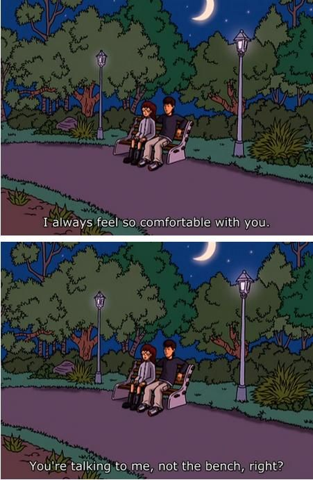 I loved these two together, but I always felt like Daria and Trent were a better match. =]