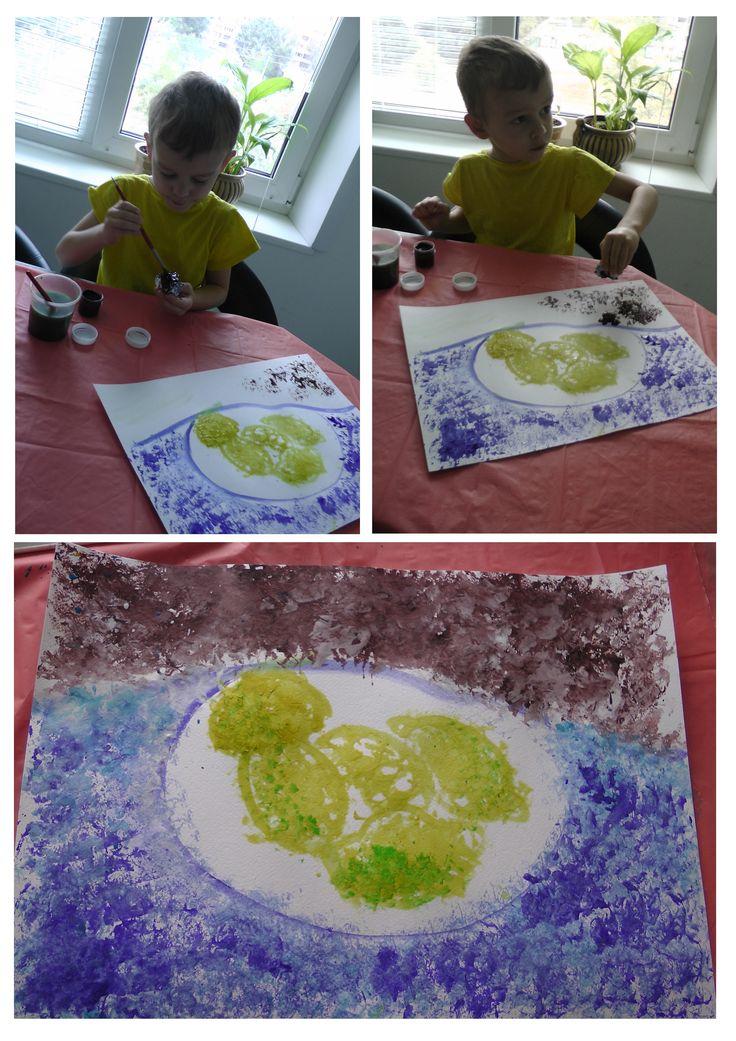 Ван Гог. Натюрморт с тарелкой лимонов
