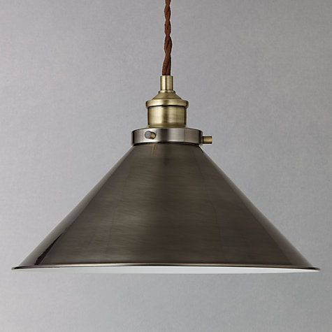 Buy John Lewis Tobias Resto Pendant Ceiling Light Online at johnlewis.com