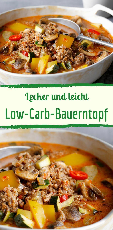 Bauerntopf, lecker, leicht, Low carb, gemüse, eintopf, familienküche