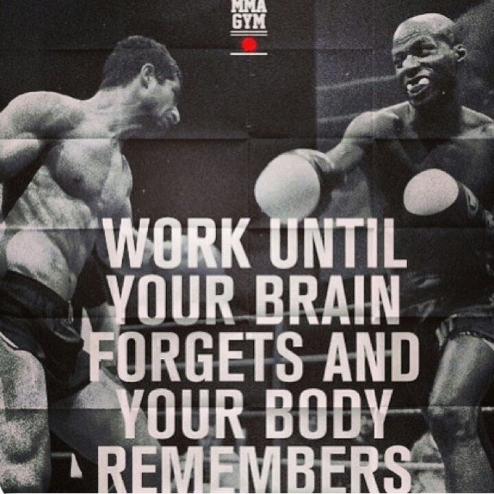 I'll be ready to compete when the defensive and offensive boxing becomes a natural reaction