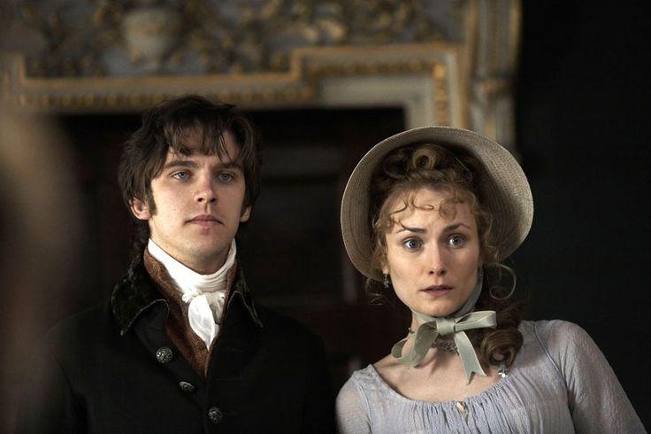 Dan Stevens as Edward Ferrars and Anna Madeley as Lucy Steele in Sense and Sensibility (TV Mini-Series, 2008).