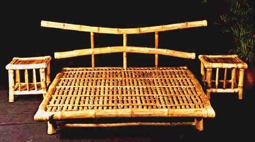Кровать из бамбука. Бамбук Казани