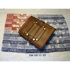 Оригинальный мужской кошелек YuT collection on the belt