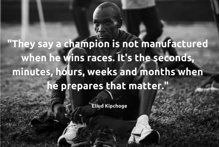 Come si allena Kipchoge? L'incredibile diario del campione di Berlino