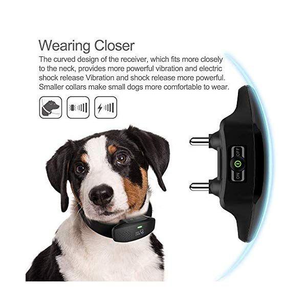 Dog Shock Collar Dog Training Collar With Remote 3 Training