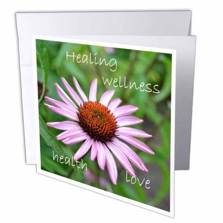 3dRose Inspirations Healing Greeting Cards 6 X Inches Set Of 12