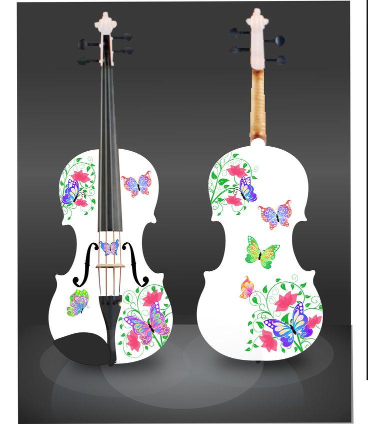 Rozanna's Butterfly Dream II Spring 2014! http://www.rozannasviolins.com