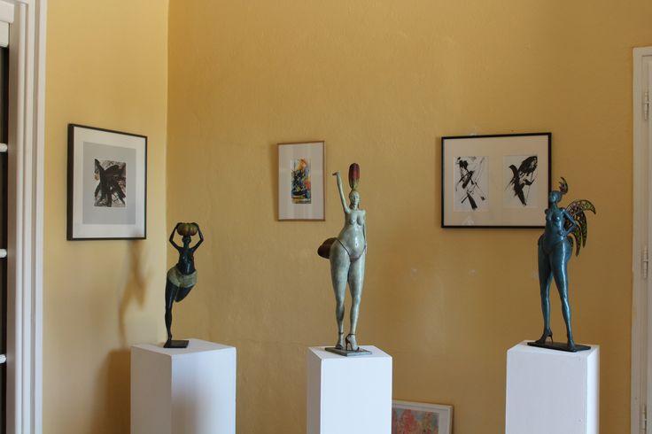 Domaine Saint-Jean de Villecroze (Villecroze). Artistes : Michel DEJOS & JJ CARRY