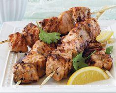 Tandoori-Style Salmon Kebabs | Yummy Looking Stuff | Pinterest