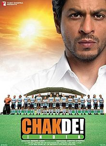 Rating=10/10 Chek De! India {2007}  Genre- Indian Sports Drama   USP-Sharukh's career best performance with brilliant supporting cast. A film which can make anyone feel patritotic .  Link-http://en.wikipedia.org/wiki/Chak_De!_India