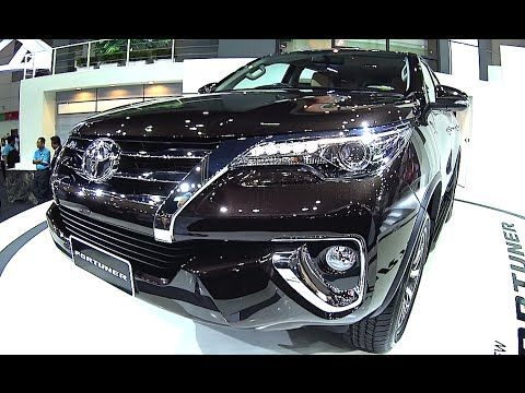 Overview SUVs new TOYOTA FORTUNER 2016, 2017 model, TOP SUVs