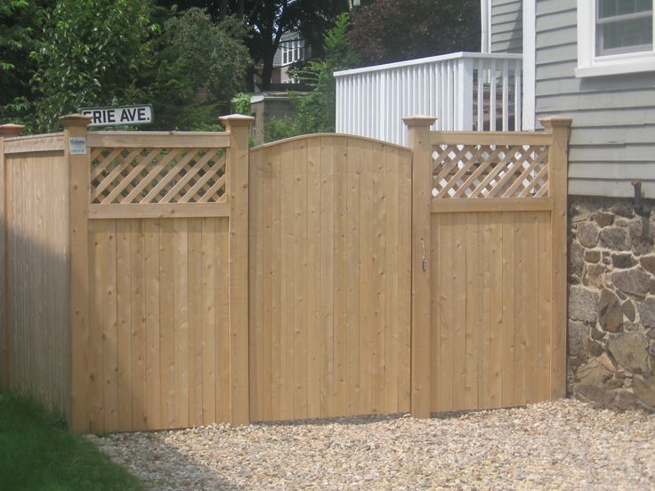 82 Best Images About Fence And Gates On Pinterest Wooden