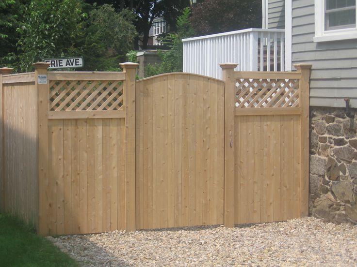 Vinyl Lattice Fence Installation - WoodWorking Projects