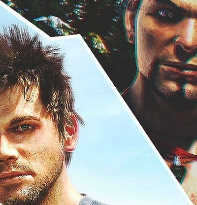 Jason Brody and Vaas Montenegro, Far Cry 3