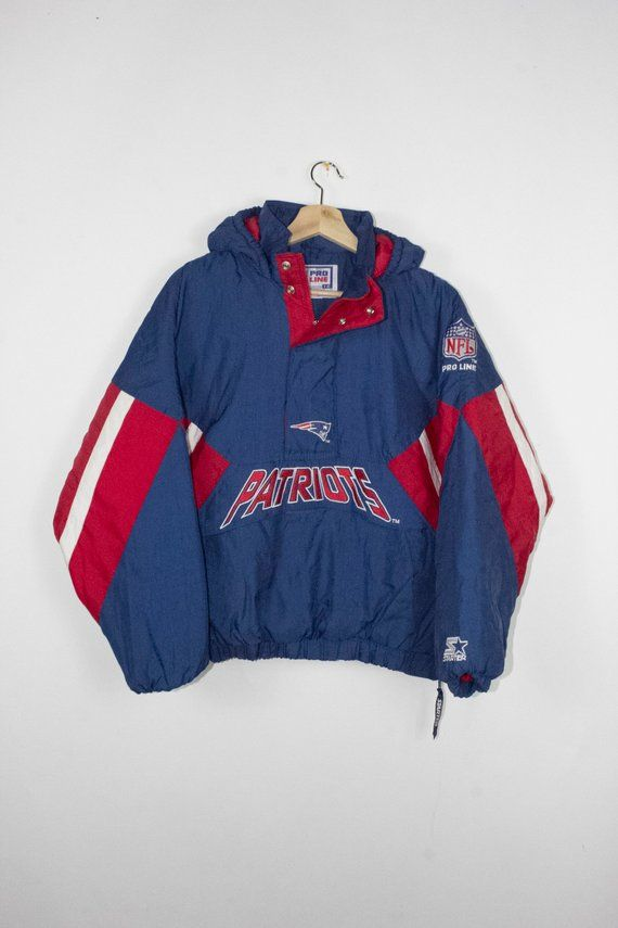 best sneakers b565d 9b17f Vintage patriots starter jacket - 90s - new england - nfl ...