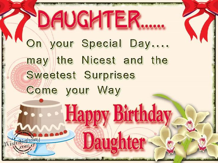 25 best ideas about Birthday Greetings For Daughter – Birthday Greetings with Picture