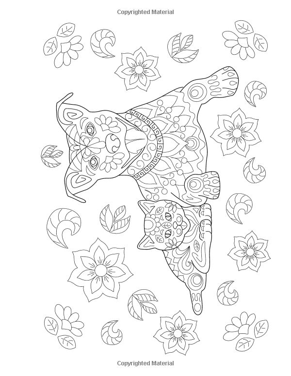 Cats and Dogs Coloring Book For Adults: Unique Floral Tangle Dog and Cat Designs ( Floral Tangle Art Therapy) (Volume 2): Artistic Den, Avon Coloring Books, Cats and Dogs Adult Coloring Books: 9781517498740: Amazon.com: Books