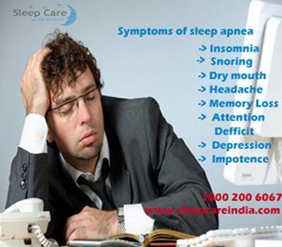 Symptoms Of Sleep Apnea.