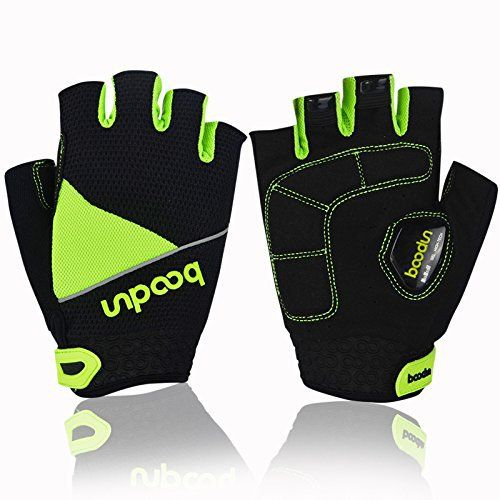 Cycling Gloves with Gel Pad Breathable Shock-absorbing Half Finger Bike Gloves Bicycle Gloves B-002 - http://ridingjerseys.com/cycling-gloves-with-gel-pad-breathable-shock-absorbing-half-finger-bike-gloves-bicycle-gloves-b-002/