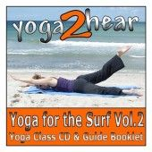 A yoga class for surfers, to improve balance and upper body strength and mobility.