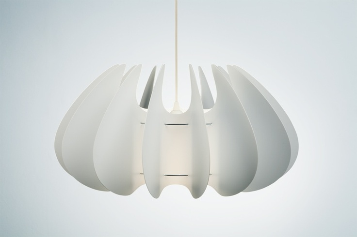 white michelle lampshade by Norla Design