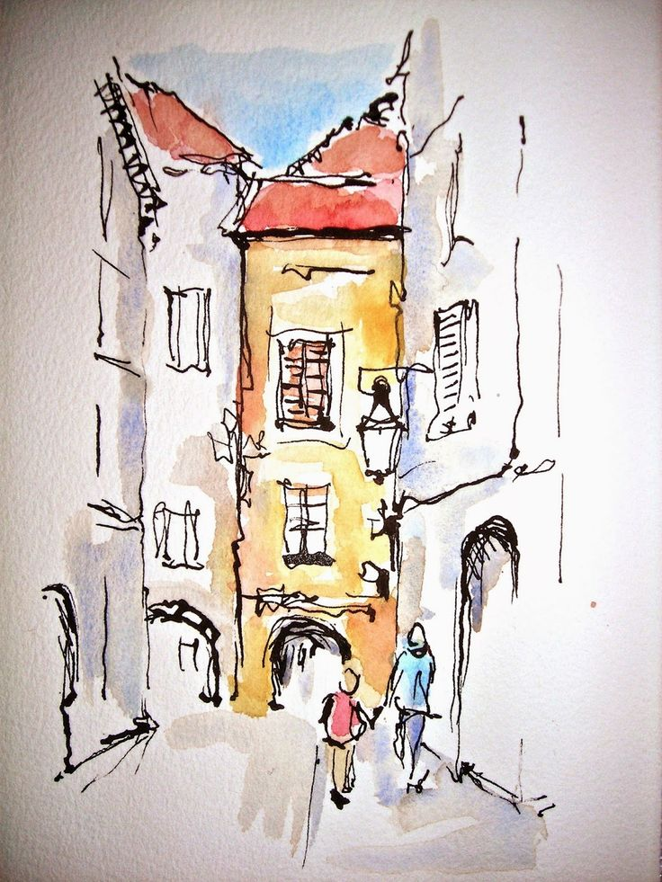 Sketchbook Wandering : Time to Explore