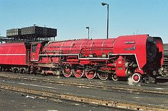 Rooi Duiwel (Camera man Hannes) Tags: red train steam devil locomotive 484 rooi class26 duiwel