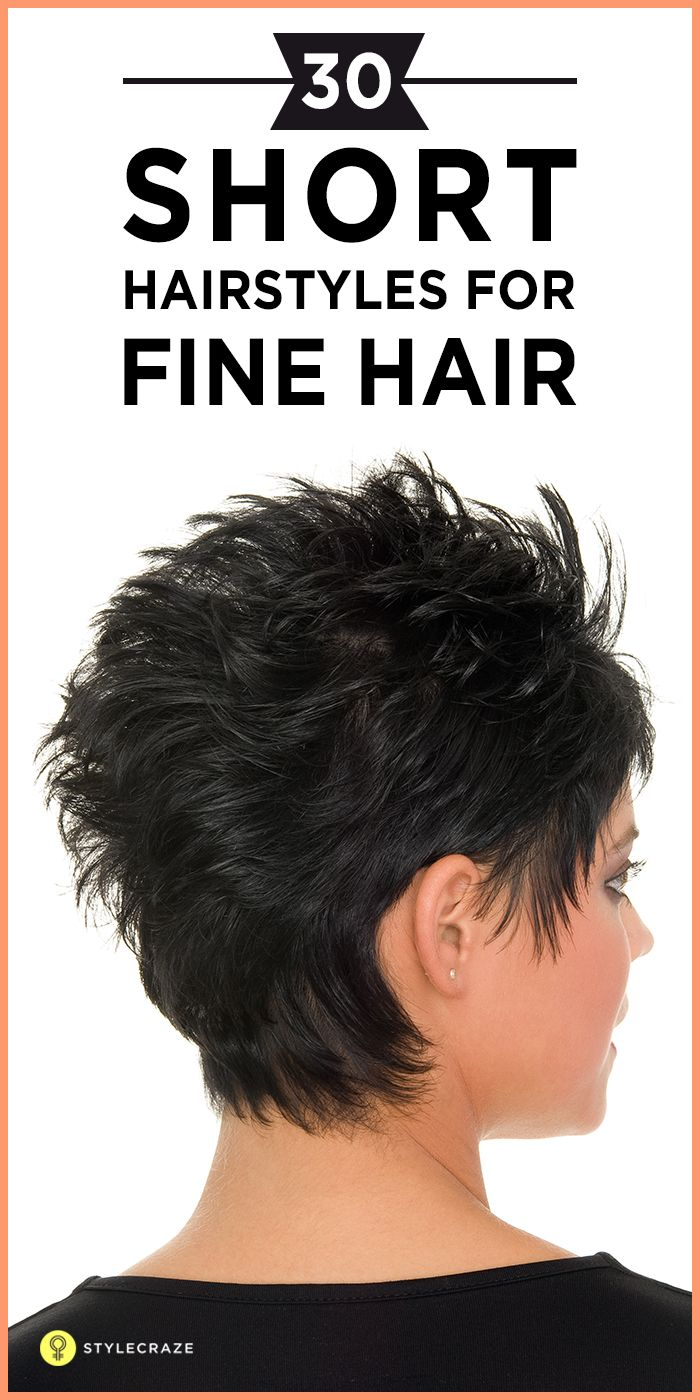 30 Short Hairstyles For Fine Hair Fine Hair Thin Hair And Short Haircuts