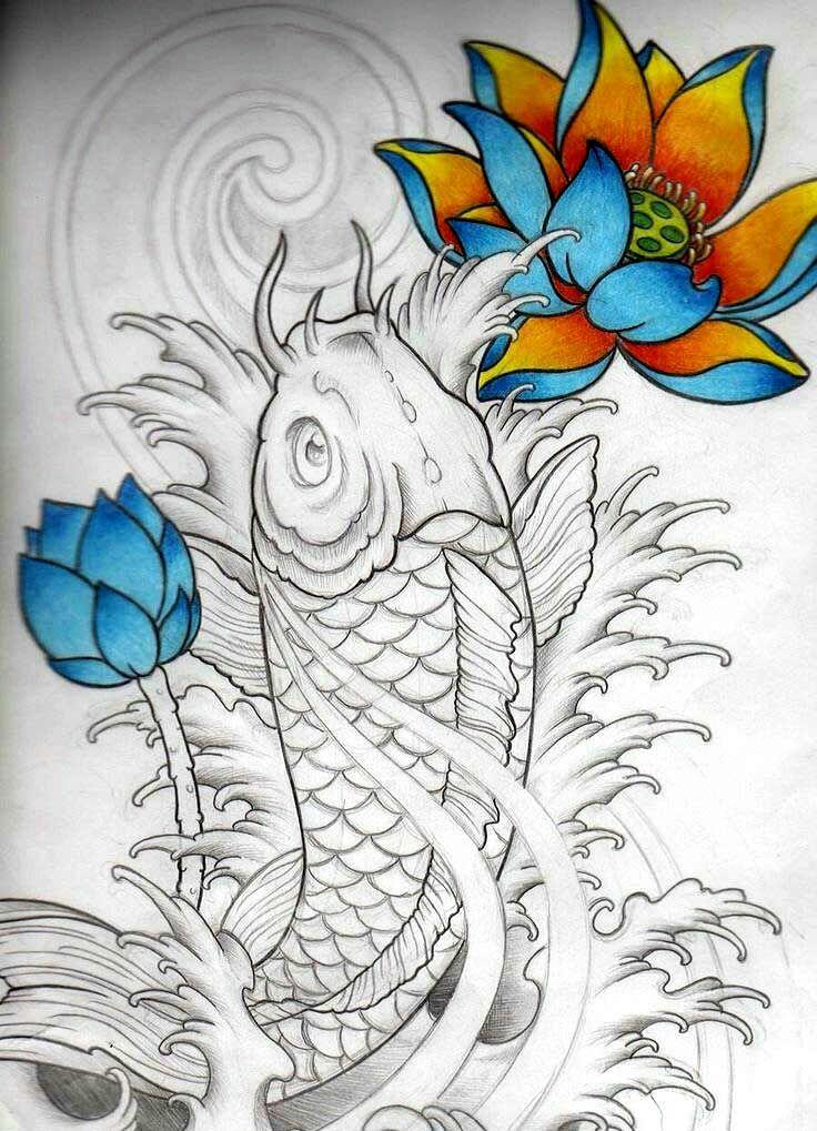 50 best koi images on pinterest tattoo designs tattoo ideas and asian tattoos. Black Bedroom Furniture Sets. Home Design Ideas