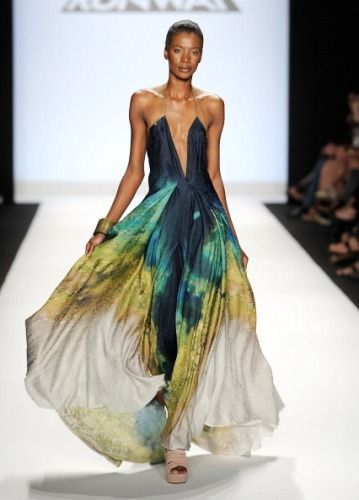 One of Anya Ayoung-Chee's dresses from her winning collection for Project Runway 9!! She was my favorite designer. I would wear anything she makes.