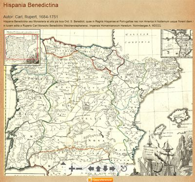 Old Maps Online lets you find your way around 17th century Holy Roman Empire.