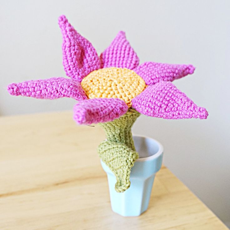 Flower Rattle Toy by shortysofresh on Etsy #flower #rattle #baby #nursery