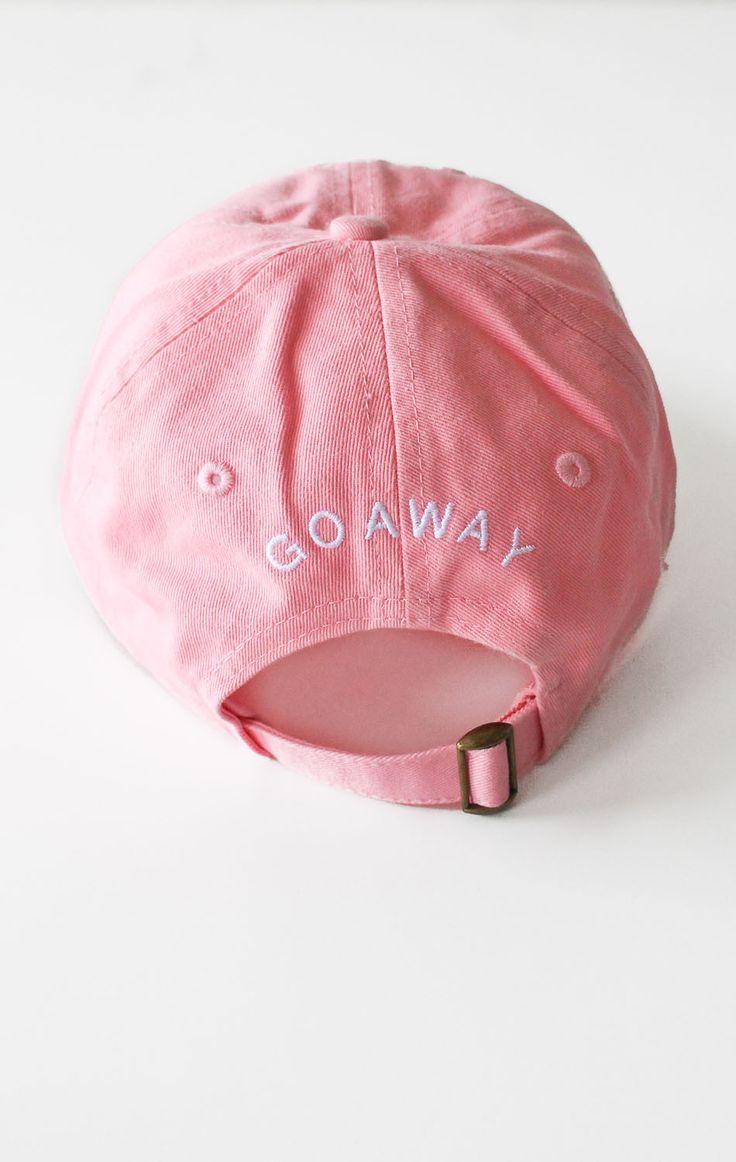 Go Away Cap - Pink