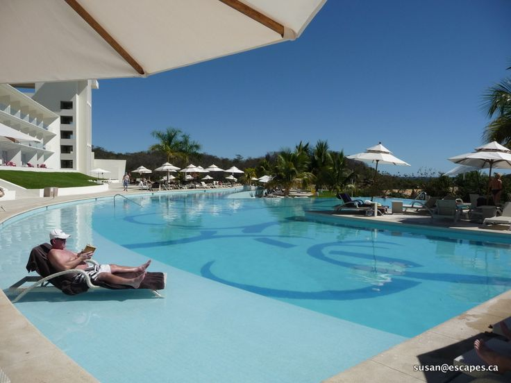 Secrets Huatulco, isn't this how you'd like to spend the day?