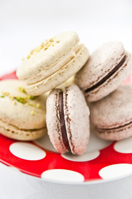 Macarons with not an almond in sight | An, Pomegranates and Macaroons