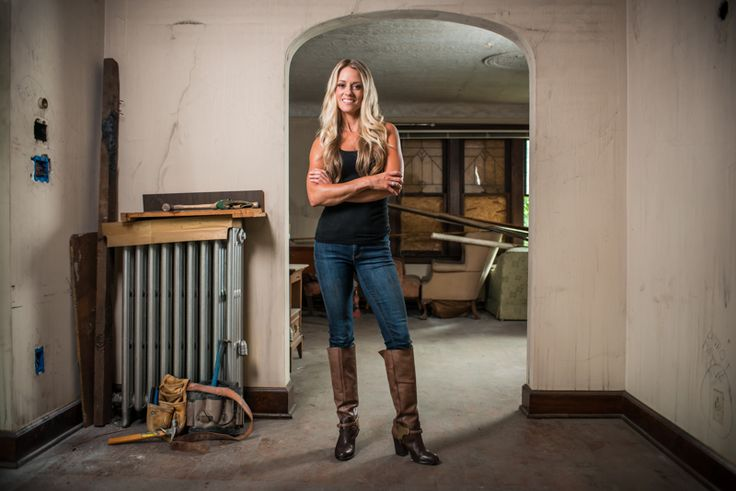 I love the show Rehab Addict. Nicole Curtis is so professional, passionate, and perky.  Nicole you are one of my TV crushes!