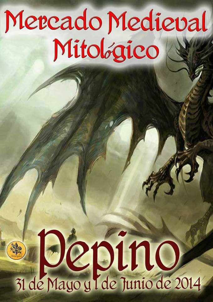 Mercado Medieval Mitológico en Pepino #Toledo 31 mayo-1 junio