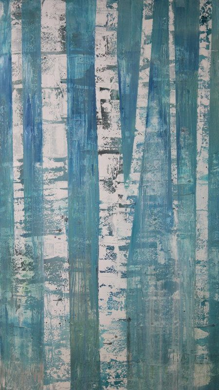 TREES | mia tarducci henry pittsburgh based oil painter associated artists abstract landscapes waterscapes large scale new york