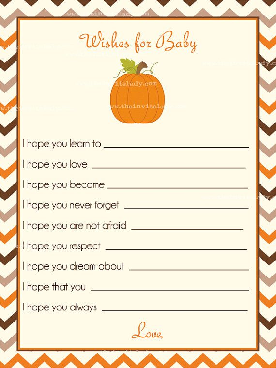 Little Pumpkin Baby Shower Invitations By TheInviteLadyShop