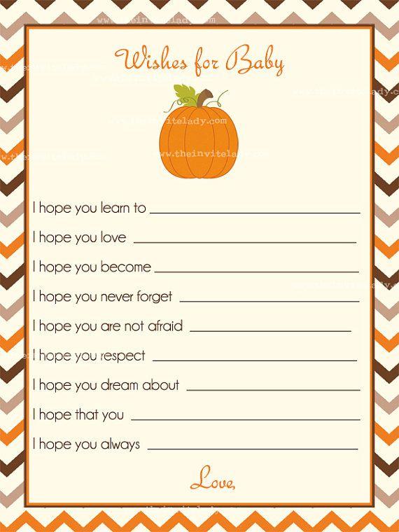Little Pumpkin Baby Shower Invitations by TheInviteLadyShop
