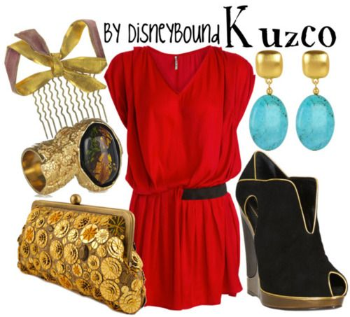 Disney Outfit: Kuzco (From The Emperor's New Groove... one of my favorites!)