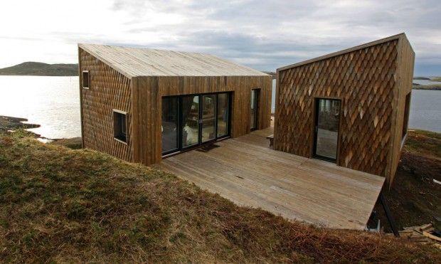 Fordypningsrommet, résidence de 6 maisons d'artistes au nord de la Norvège par TYIN tegnestue Architects - Journal du Design