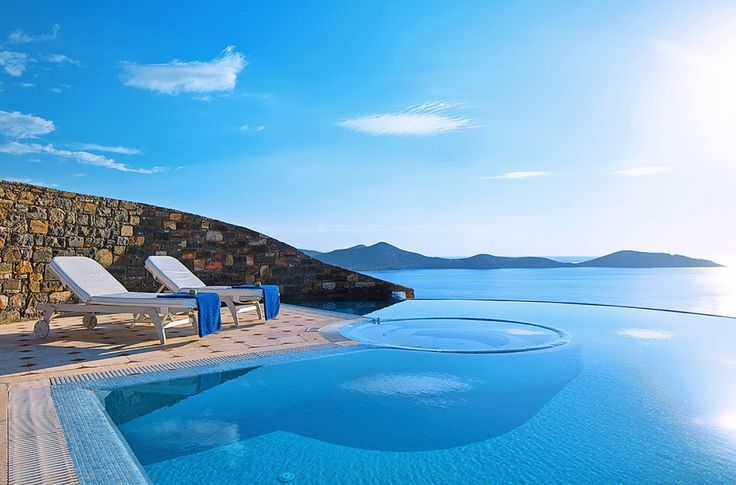 One bedroom Deluxe Spa Pool Villa with infinity pool, Agios Nikolaos | Cretico