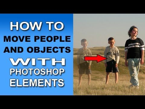 Content-Aware Move Tool in Photoshop Elements 12, 13 and 14
