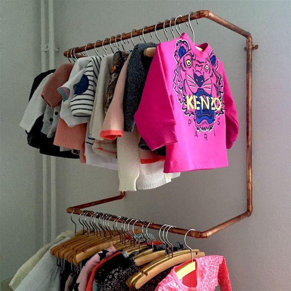 Babyrooom CITYMOM.nl : mooie open kast voor kinderkamer. Kids room closet