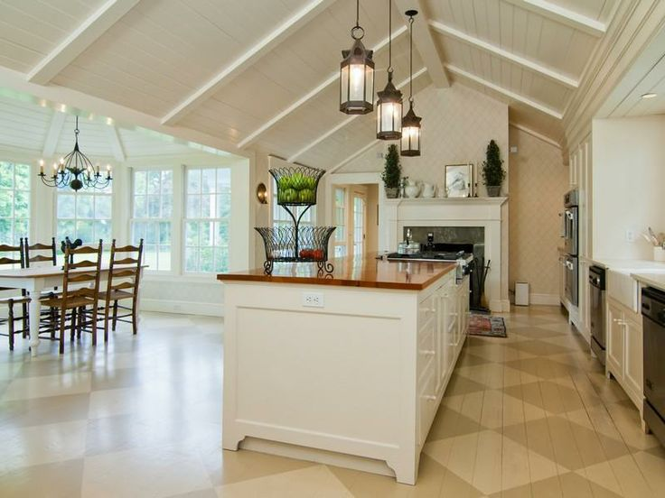 47 best images about luxury kitchens on pinterest for Luxury kitchen flooring