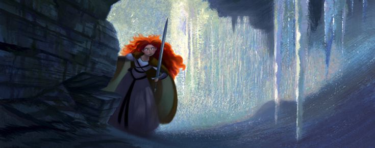 Color Key from Pixar's Brave.
